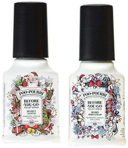 Fighting Duo - Poo-Pourri Before-You-Go Holiday Duo Gift Set, 2oz