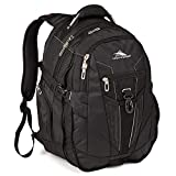 High Sierra XBT Business Laptop Backpack - 17-inch Laptop Backpack for Men or Women, True Navy/Royal Cobalt/Chartreuse