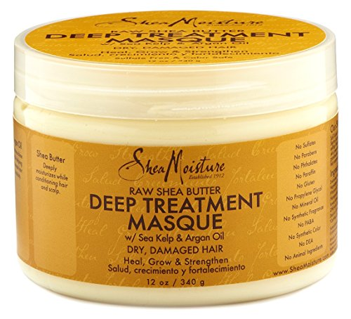 Shea Moisture Raw Shea Masque 12 Ounce Jar