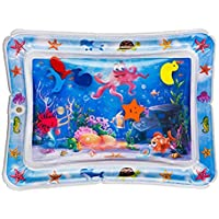 SNOWIE SOFT Inflatable Tummy Time Premium Water mat Infants & Toddlers is The Perfect Fun time Play Activity Center Your Baby's Stimulation Growth
