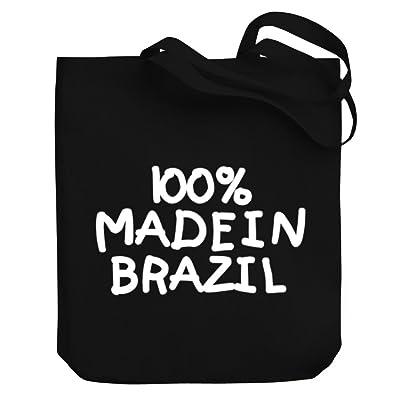 Teeburon 100 MADE IN Brazil Canvas Tote Bag