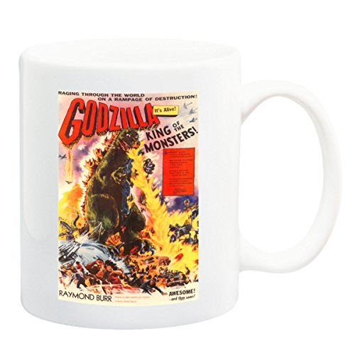 Godzilla Classic Movie Mug - 11 Fluid Oz (Godzilla Coffee Cup compare prices)