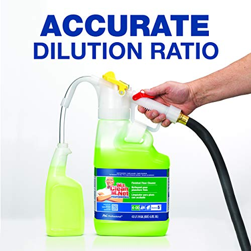 P&G Professional Floor Cleaner from Mr. Clean Professional, Dilute2Go All Purpose Cleaner, 4.5 Liter Bottle