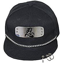 CHENMA Baseball Cap Naruto Headband Cool Sporting Hat with Adjustable Snapback