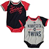 "Minnesota Twins Baby / Infant ""Descendant"" 2 Piece Creeper Set"