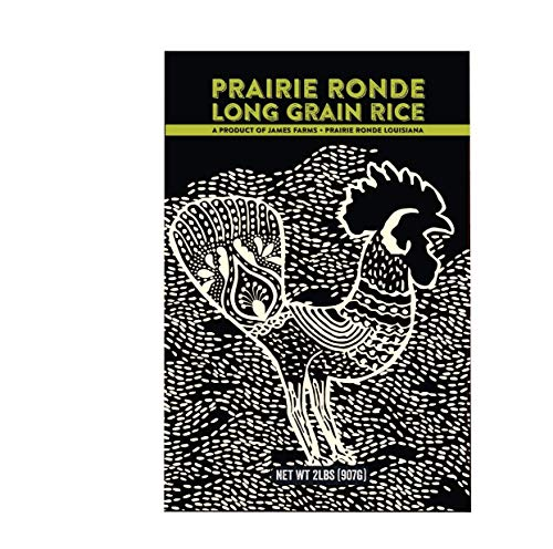 (Prairie Ronde Long Grain White Rice, 2 Pound Resealable)