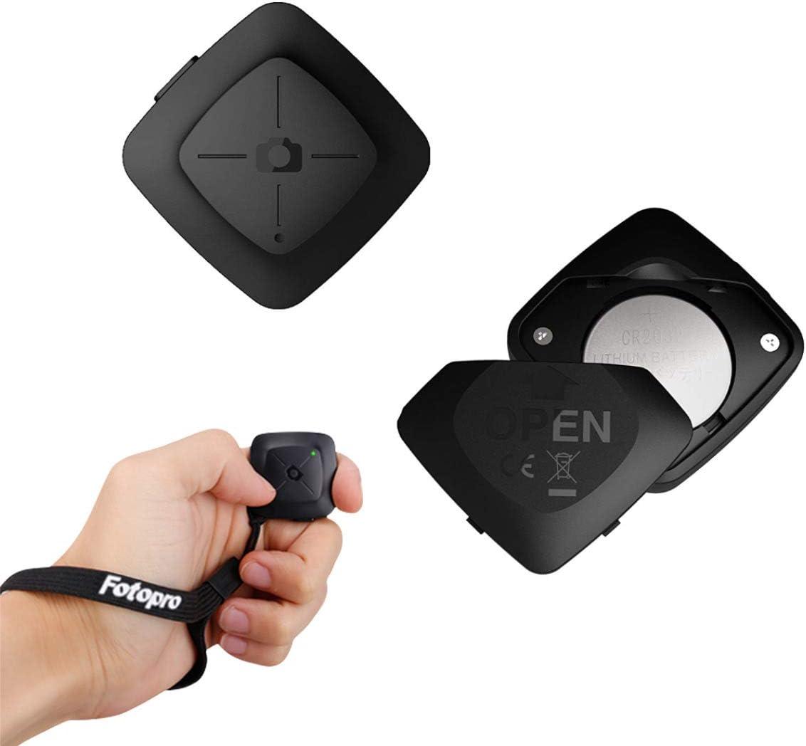 Fotopro Control Remoto Bluetooth, Disparador inalámbrico para teléfonos Inteligentes iOS y Android, Bluetooth Trigger para iPhone, iPad, Samsung Galaxy, Huawei