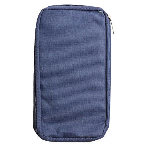 Travel Wallet Family Passport Holder RFID Blocking Document Organizer Bag Sunshiny