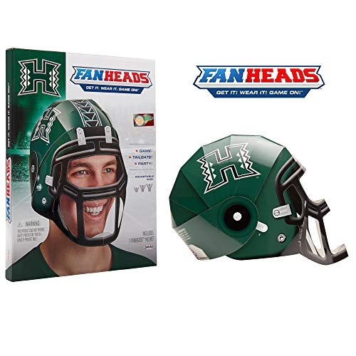 Warriors Helmet Hawaii (Fan Heads - Hawaii Warriors)