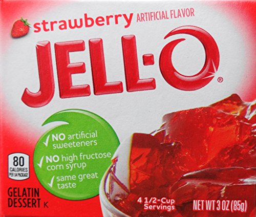 Jell-O Gelatin Dessert, Strawberry