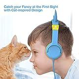 [Upgrade] iClever Boostcare Kids Headphones, Cat