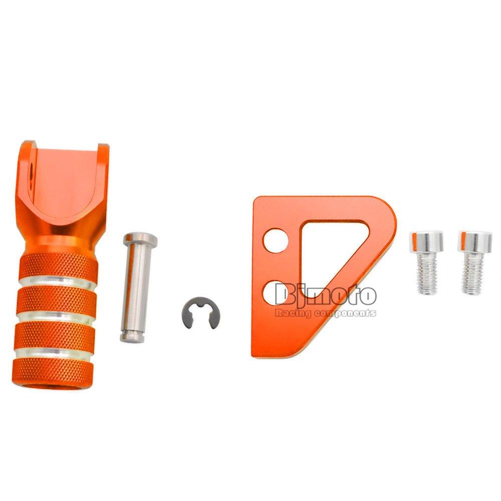 Alta calidad Pedal de freno trasero Pasos de paso y cambio de marchas Palanca Palanca ajustada para SX EXC XCF XC XCW SXF EXCF SMR DUKE 125-530 690 950 AVENTURA
