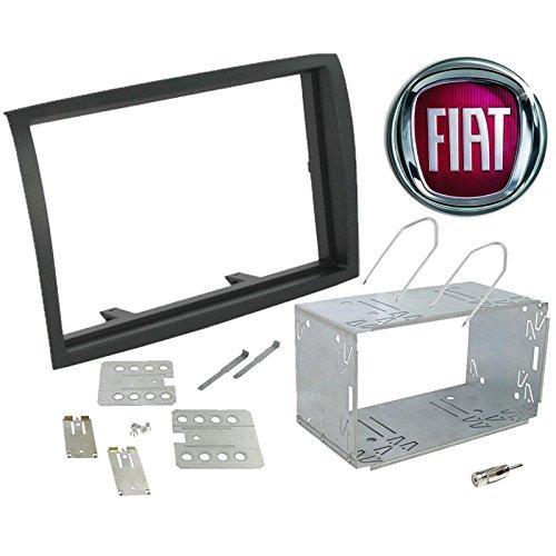Kit montaggio mascherina adattatore connettore autoradio 2 DIN FIAT Ducato / Citroen jumper / Peujeot Boxer dal 2006 Sound-way