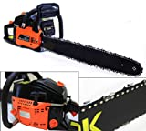 NEW 22' Gas Chainsaw Wood Cutter w Electronic Ignition Power Equipment 2.4HP