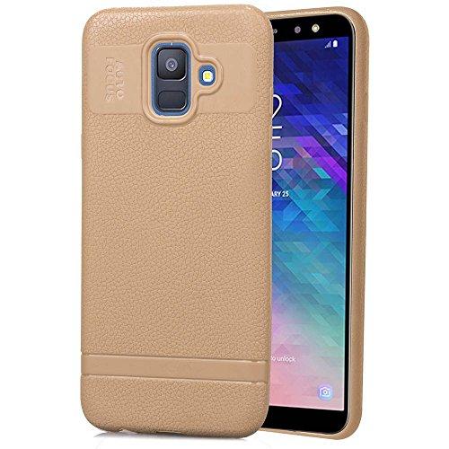 (Codream Samsung Galaxy A6 (2018) Case Pouch Series Series Heavy Duty Protection Bumper Case for Samsung Galaxy A6 (2018) (Beige))