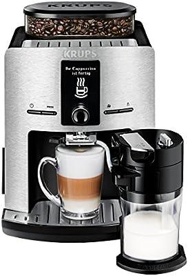 Krups EA829D - Cafetera (Independiente, Máquina espresso, 1,7 L ...