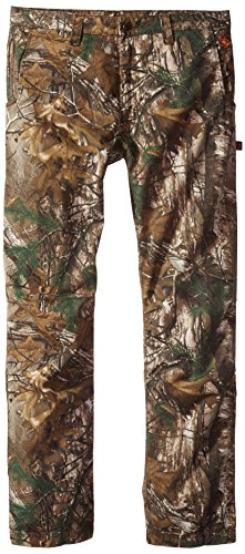 Justin Flame Resistant Men's Lightweight Twill Pant in Xtra Camo Fabric, Realtree, (Fr Twill Pants)