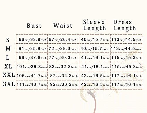 Dressystar 0017 Women's Elegant Floral Lace Dress 3/4 Sleeves Bridesmaid Midi Dresses Illusion Neckline Grape XXL