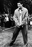 Adam Sandler in Happy Gilmore holding golf club 24x36 Poster