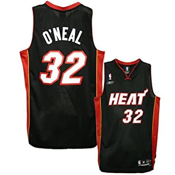 76322bc8e ... Mens Purple Replica Jersey Reebok Miami Heat 32 Shaquille ONeal Black  Youth Swingman Jersey ...