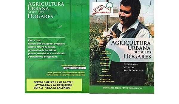 Agricultura Urbana: Producción en casa de hortalizas, frutales ...