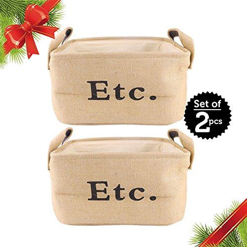 Christmas Gift Eco Storage Basket | 2 pcs 12