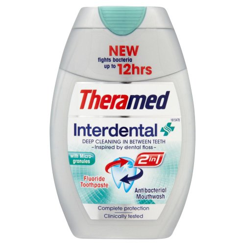 Theramed 2-in-1 Interdental Toothpaste 75ml [Health and Beauty]