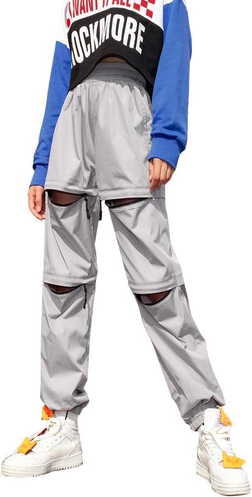 WEEKEEP - Pantalones de chándal para Mujer con Cintura Alta y ...