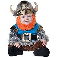 Traje vikingo de InCharacter Baby Boy, Plateado /Azul, Grande (18mos - 2T)