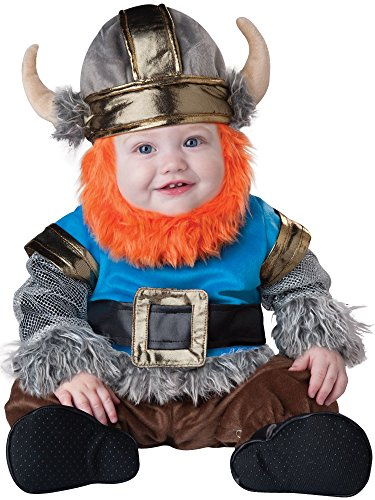 InCharacter Baby Boy's Viking Costume, Silver/Blue, Large(18mos - 2T) ()