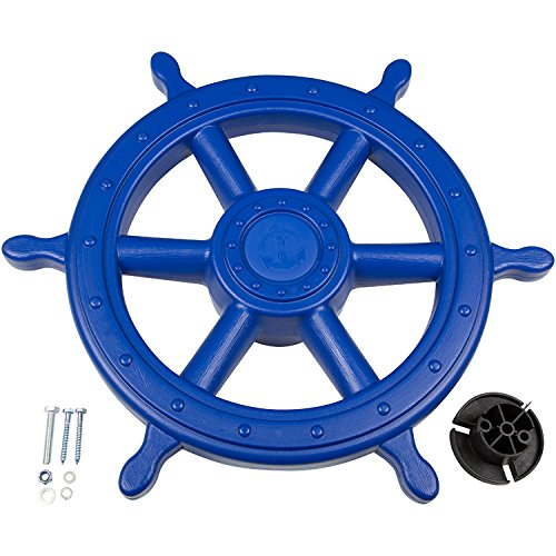 Swing Set Stuff Ships Wheel with SSS Logo Sticker (Blue)