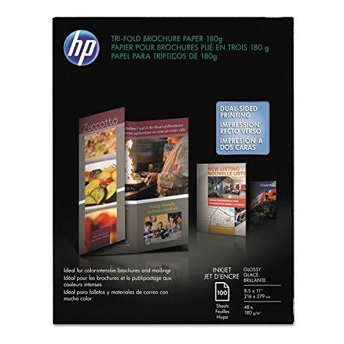 HEWC7020A - Inkjet Tri-Fold Brochure Paper by HP