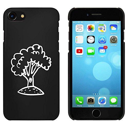 Noir 'Feuillu Arbre' étui / housse pour iPhone 7 (MC00087006)