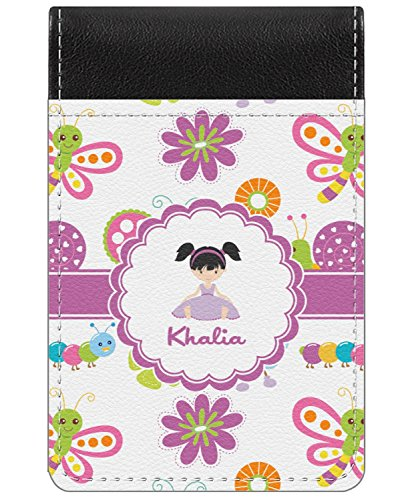 - Butterflies Genuine Leather Small Memo Pad (Personalized)