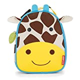 Skip Hop Zoo Kids Insulated Lunch Box, Jules Giraffe, Yellow