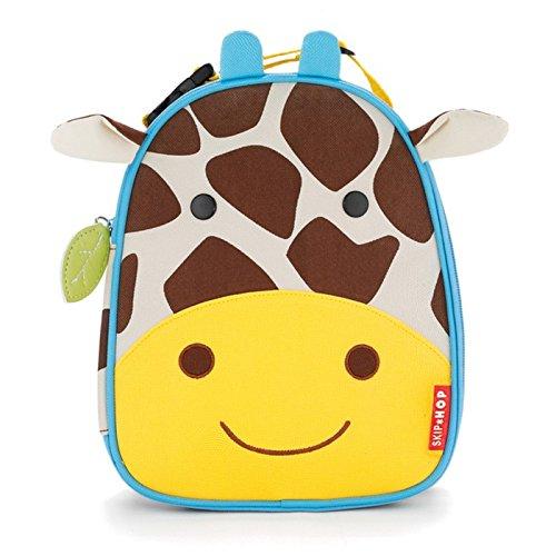 [해외]Skip Hop Baby Zoo Little Kid and Toddler 단열 및 방수 도시락 가방 / Skip Hop Zoo Kids Insulated Lunch Box, Jules Giraffe, Yellow
