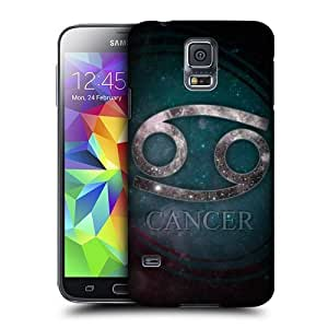 Green Lantern Phone Case's Shop 5736249M32637259 Head Case Designs Cancer Nebula Zodiac Symbols Protective Snap-on Hard Back Case Cover for Samsung Galaxy S5