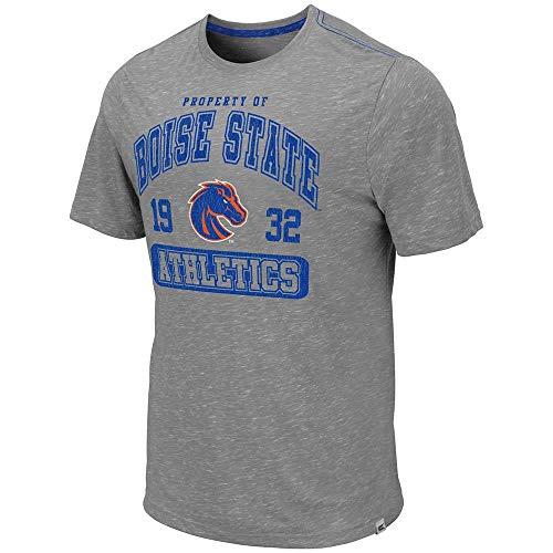 (Colosseum Mens Boise State Broncos Campinas Short Sleeve Tee Shirt - XL)