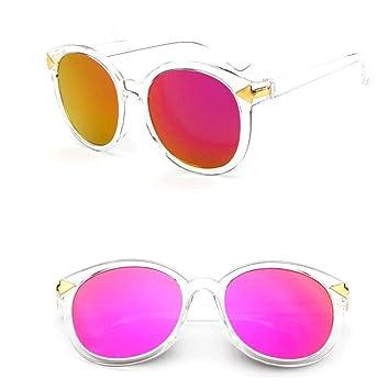Mode Sonnenbrille Sonnenbrille Weibliche Gesicht-Aufzug Gläser , Rot