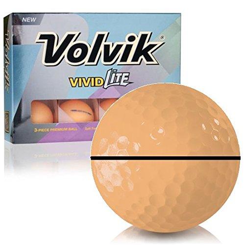 Volvik Vivid Liteオレンジalignxl Personalizedゴルフボール B07D5HHLM4