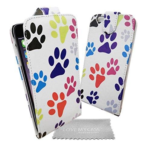 """Stylebitz / Étui motif pattes de chats et chiens pour Apple iPhone 6 PLUS (5.5"""") avec chiffon de nettoyage Stylebitz (multicolore)"""