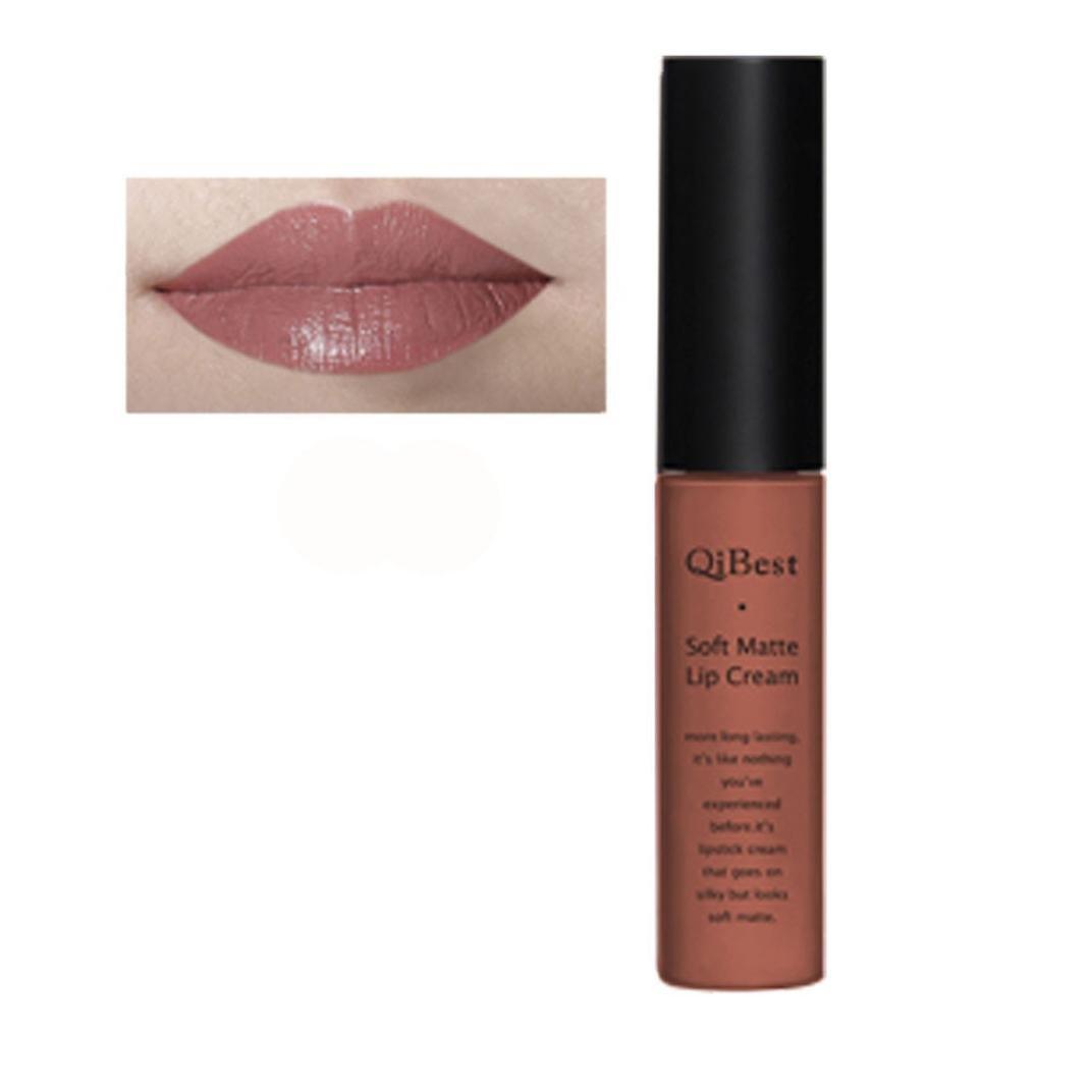 Qi Best Lipstick Toopoot Waterproof Matte Liquid Long Make Over Lipcream Lasting Lip Gloss Black30 Beauty