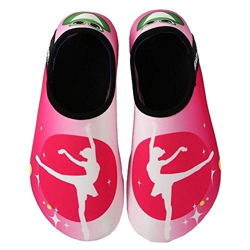 Vifuur Water Sportschoenen Barefoot Sneldrogend Aqua Yoga Sokken Instapper Voor Heren Dames Kids Ballet