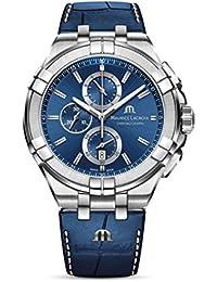 Aikon Chrono Quartz Watch, Chronograph, 44mm, AI1018-SS00-430-1