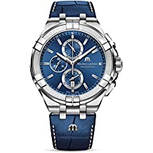 Maurice Lacroix Aikon Chrono Quartz Watch, Chronograph, 44mm, AI1018-SS00-430-1