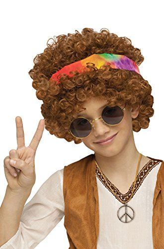 Fun World Hippie Fro Child Wig-