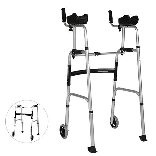 KEXINGQI Andadores Ancianos Plegable - Ajustable con ...