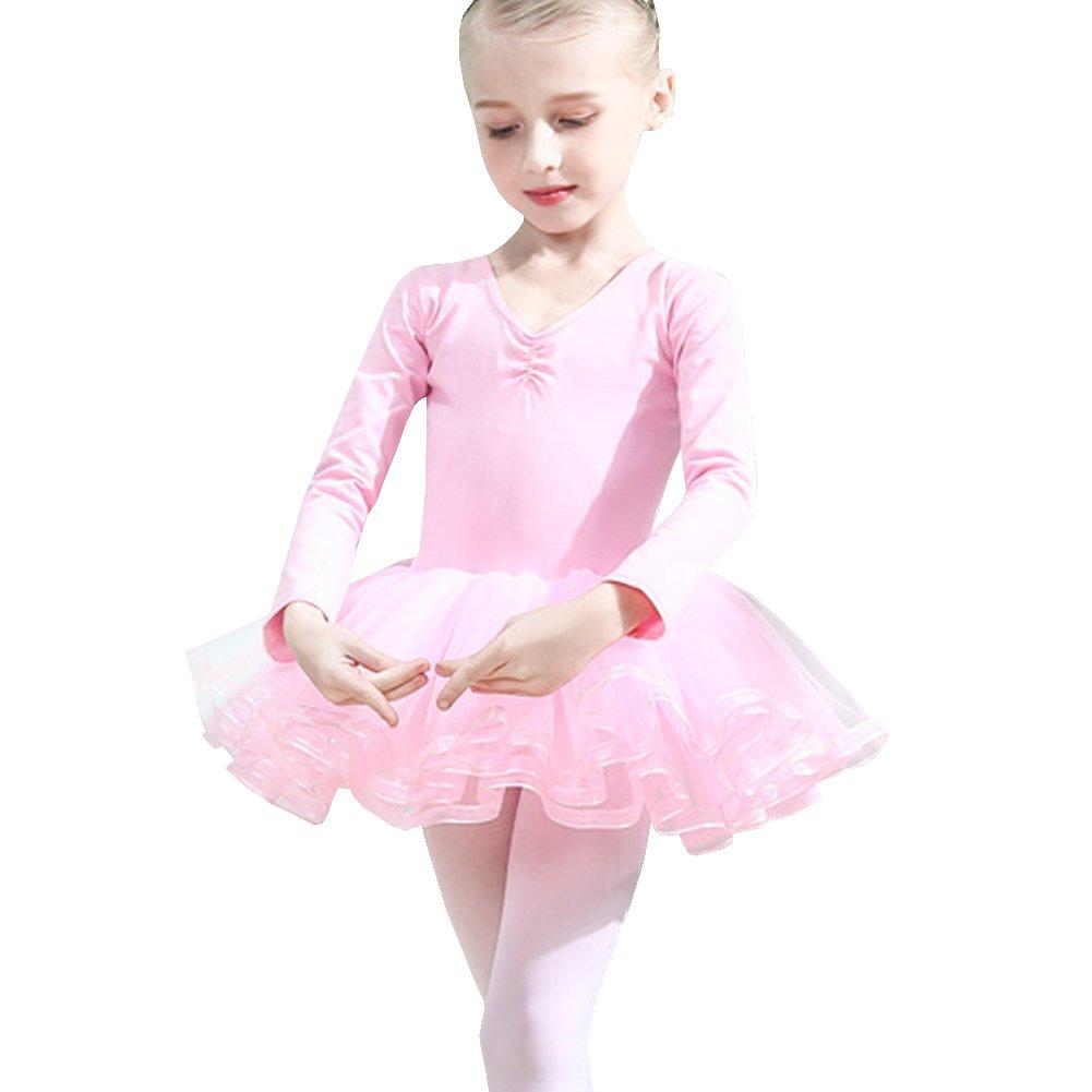 Lisianthus Girls' Tutu Gymnastics Leotard Ballet Dress TQW0061