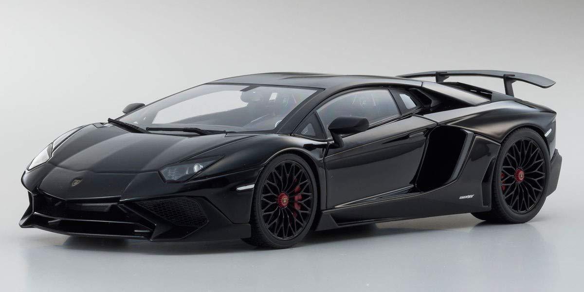 Amazon Com Lamborghini Aventador Lp 750 4 Superveloce Black 1 18