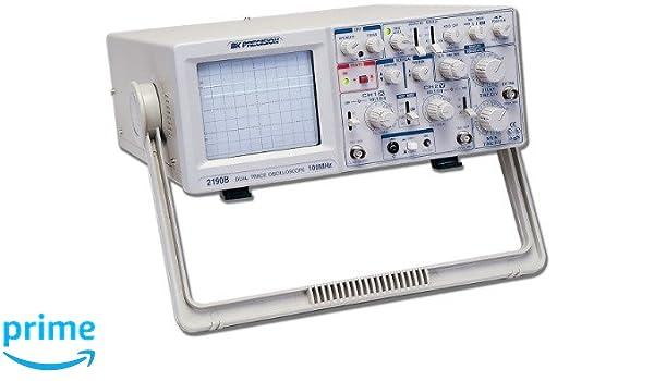 B&K Precision 2190B Dual Trace Analog Oscilloscope, 100 MHz: Science